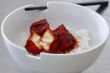 manchurian tofu
