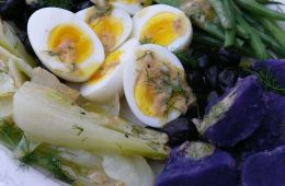 winter salad nicoise