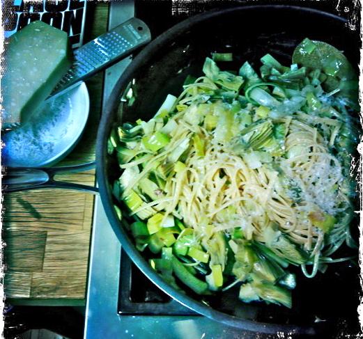 artichoke pasta