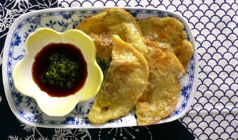 egg wrapper dumplings