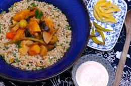 vegetable tagine with preserved lemons