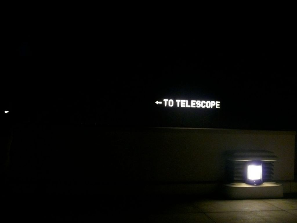 telescopes this way