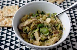 spring ragu with israeli couscous