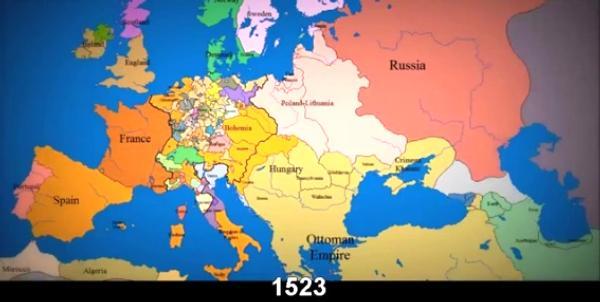 Europe 1523