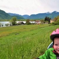 Ma 1ere etape du Tour de france : le tour du lac d'annecy a velo