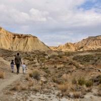 Notre premier desert ! Les Bardenas Reales en Espagne