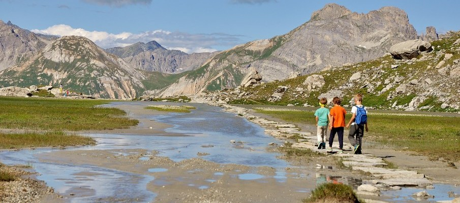 Aiguille de la Vanoise, lac des vaches : randonnee au refuge du col de la Vanoise !