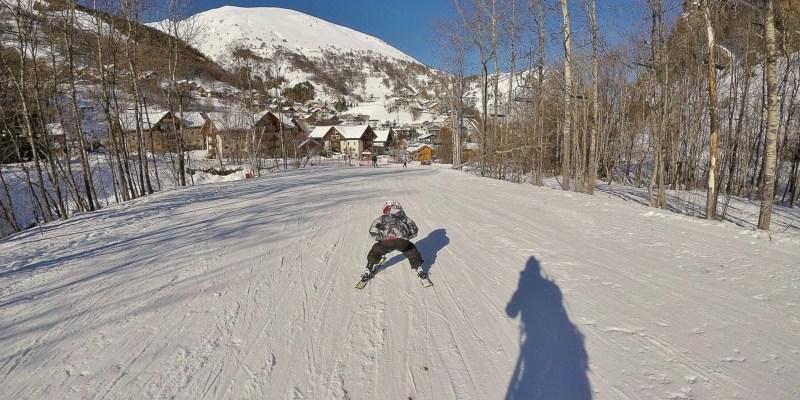 J'ai skié … à Valloire