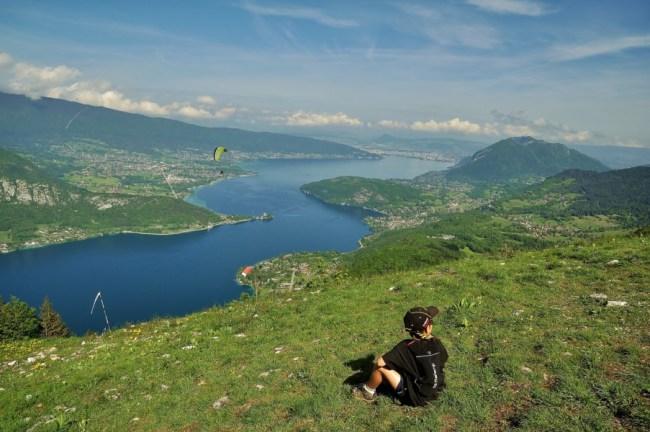 Randonnée panorama sur le lac d'Annecy : la pointe de la Rochette