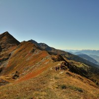 Randonnee a l'Ebaudiaz, sommet de la grande Lanche