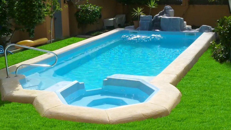 kit piscine coque cassiopea avec spa 9