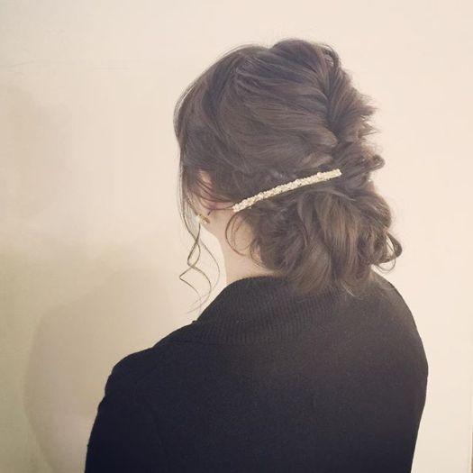 Today's hair arrangement by Keisuke Up do. ¥4320. #バラディンズ#longhair #ロングヘア#結婚式 #hairarrange #ヘアアレンジ #ウェディング#wedding#ソルティール2016 #yokohama  #横浜 #美容室 #美容院 #hair  #hairsalon #ヘアアクセサリー #あみこみ #編み込み #編み込みアレンジ#ねじり編み #なみなみウェーブ #ゆるふわ#アートグレイス #アニヴェルセルみなとみらい #ハートコート横浜#コットンハーバークラブ#baysidegeihinkanveranda(Instagram)
