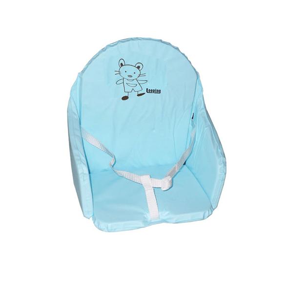 Coussin De Chaise PVC Avec Sangles Bleu Lagon Les Bbs