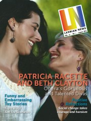 Lesbian News August 2015 Issue