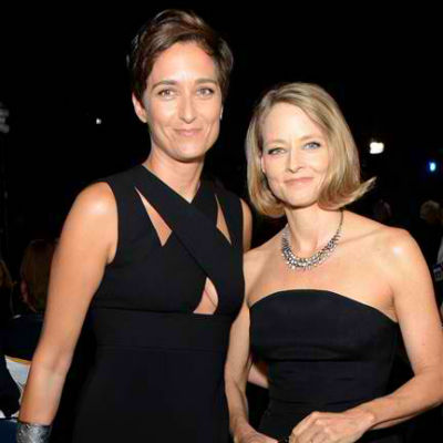 Lesbian Couples - Jodie Foster and Alexandra Hedison
