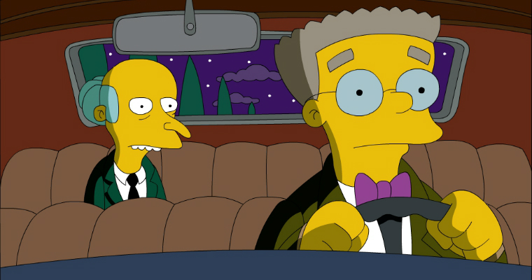 Smithers The Simpson