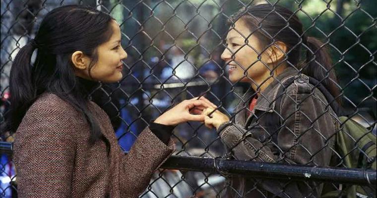 Saving face - fictional lesbian couples
