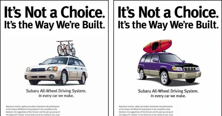 Subaru - advertising for lesbians