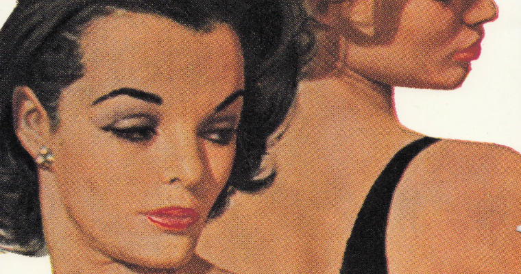 Lesbian life in the 1950s - pulp fiction
