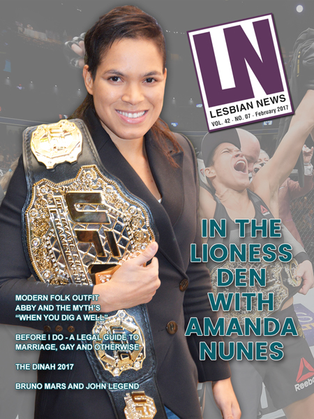 Lesbian News February 2017 Issue