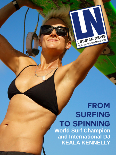 Lesbian News March 2017 Issue