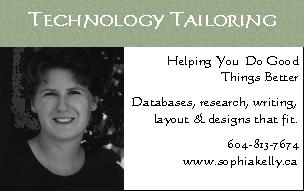 Sophia Kelly Technology Tailoring