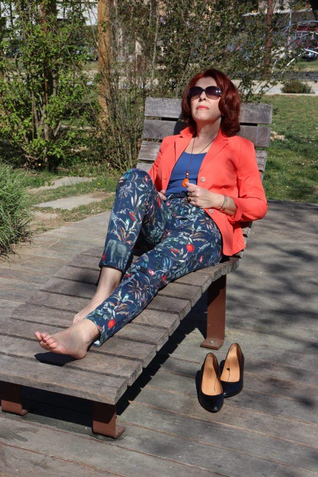 Peter hahn - ambassadrice- Mode - femme - quinqua - chic - allemande- mode - printemps
