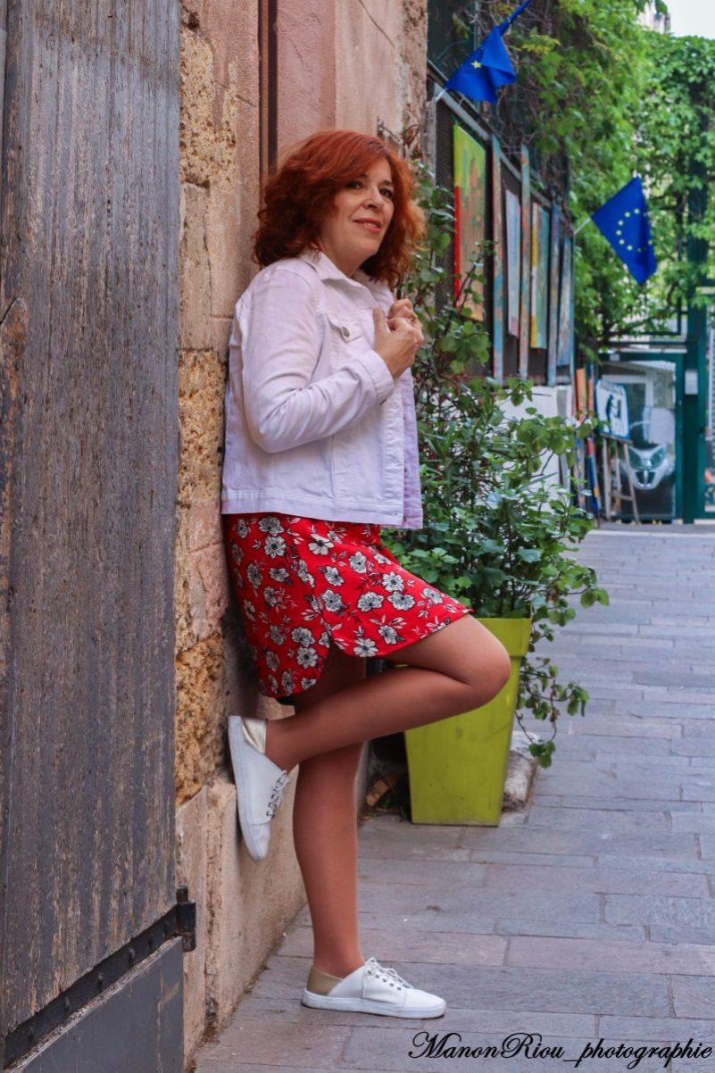 Mode - femme - Blanche Porte - printemps - été - quinqua - senior - tendance