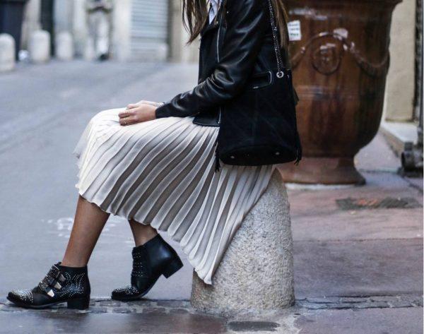 Comment porter la jupe plissée