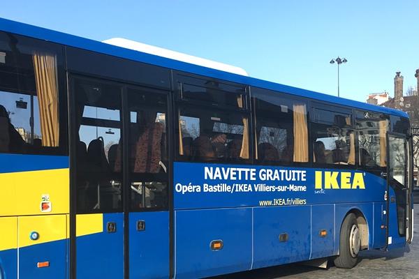 Bus Gratuit Pour Ikea Depuis Paris Testé Et Approuvé