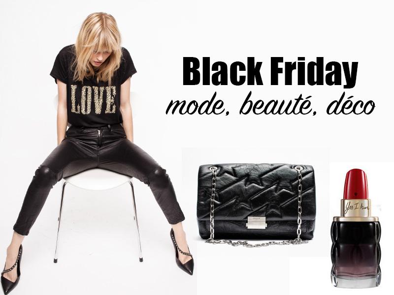 black friday 2018 france mode beaute