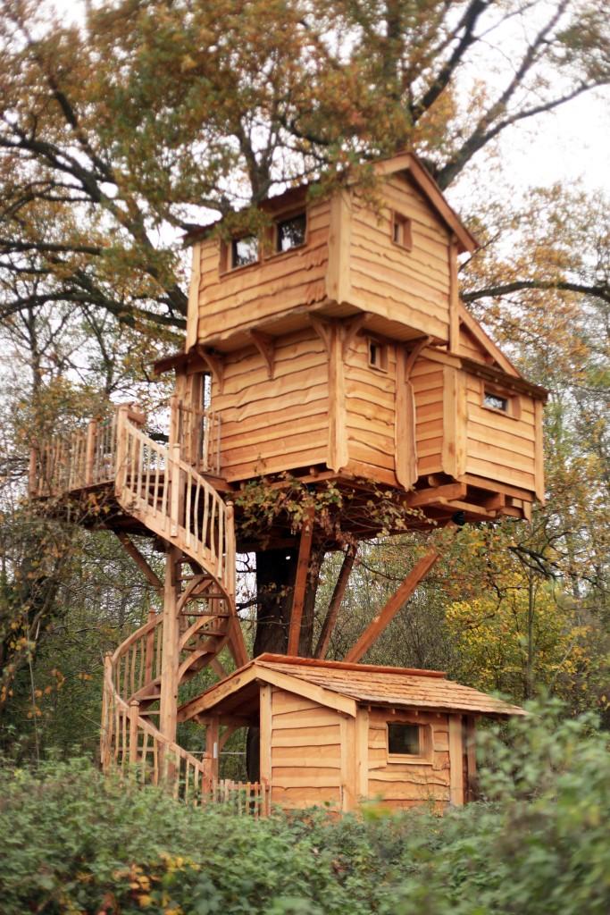 La Rivire cabane dans les arbres en rgion parisienne 77