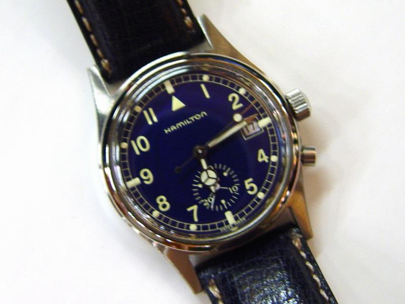design senza tempo 44328 4a4ff HAMILTON-Cronografo Khaki monopulsante