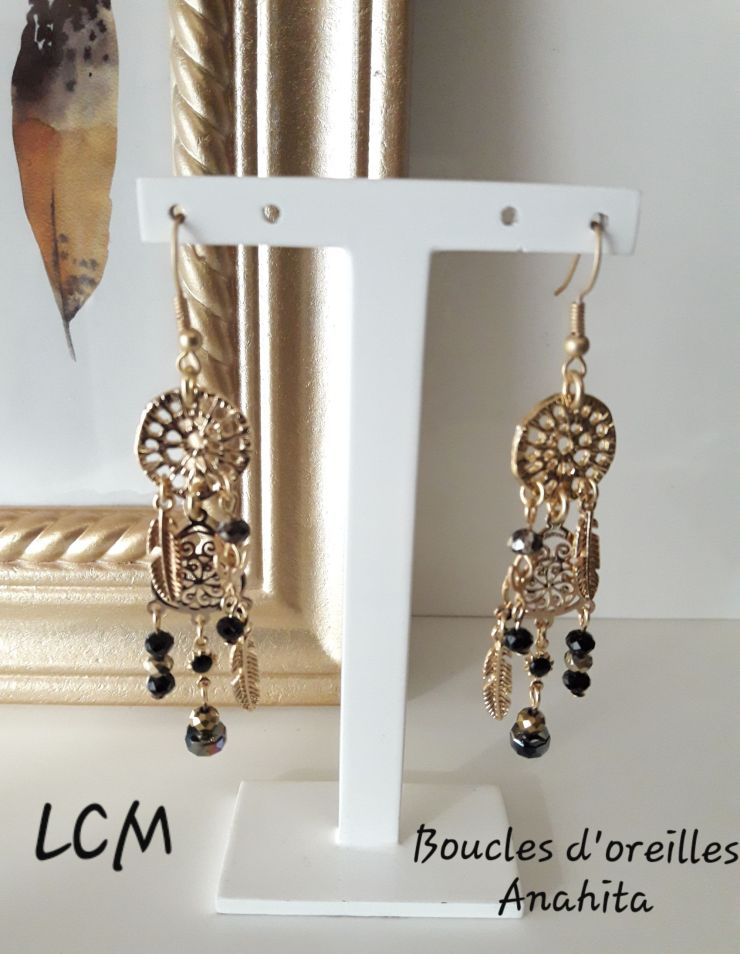 Collection Boucles d'oreilles Anahita
