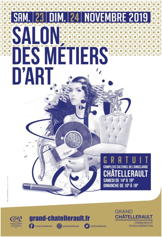 salon des métier d'Art à Chatellerault