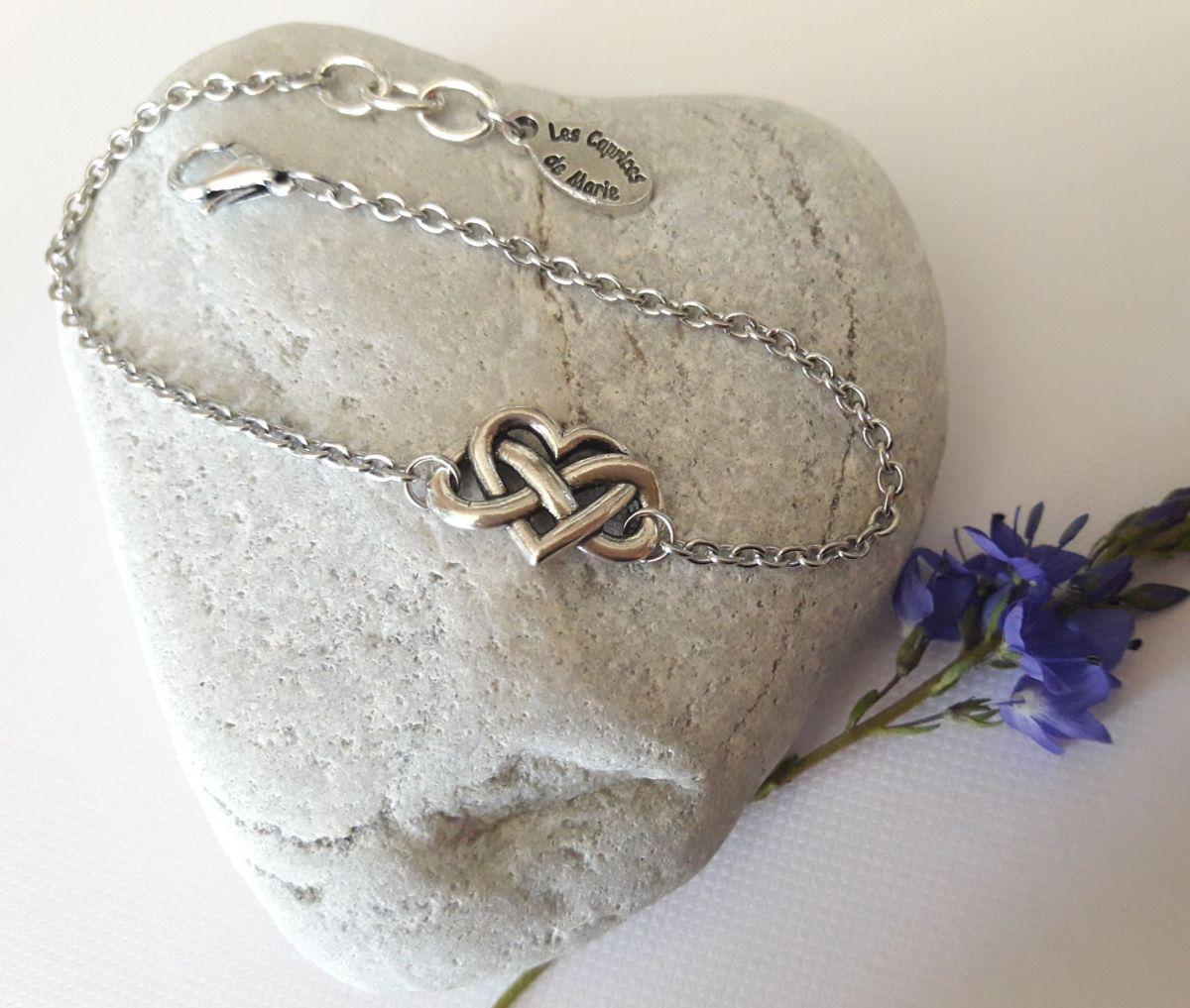 Bracelet amour a l'infini
