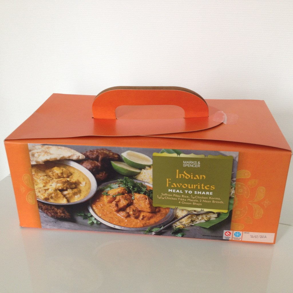 "Mark & Spencer - Boite indienne ""Indian Favourites"""