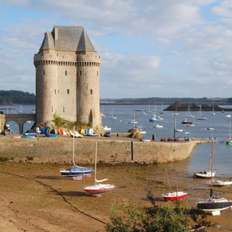 Saint malo Musée international Long Cours Cap Hornier Solidor tower dam rance