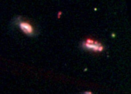 Scoperti sette gruppi di sfuggenti galassie nane
