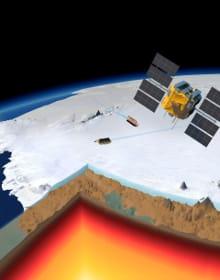 L'innalzamento delle rocce che rallenta la fusione dei ghiacci