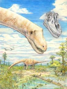 L'insalatona gigante dei dinosauri del Mesozoico