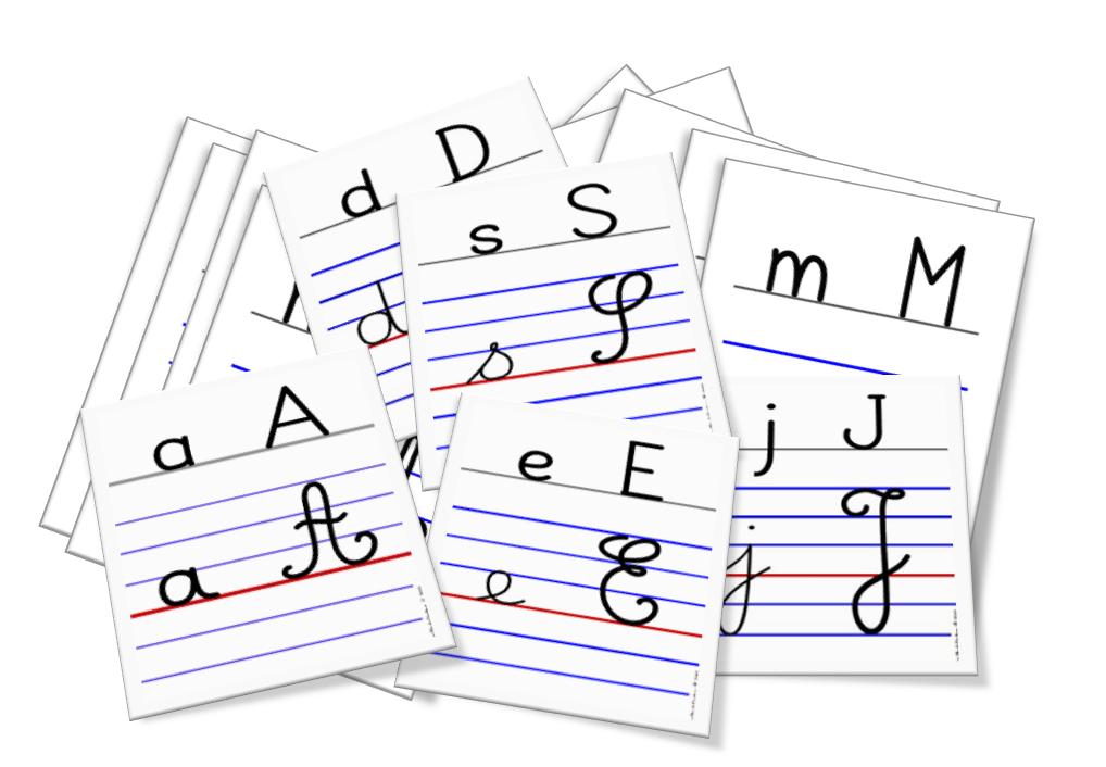 Alphabet mural à télécharger