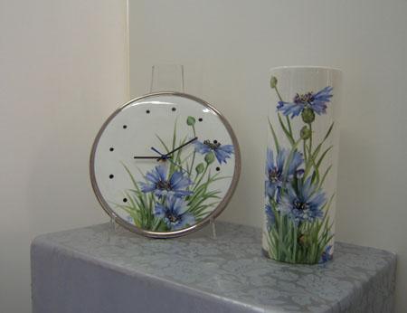 Lesclusivo Paola Gallinatto ceramiche porcellane pittura