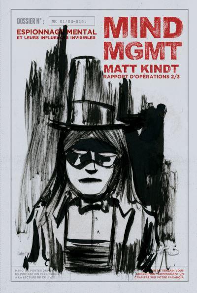 Mind MGMT Tome 2 - Critique parano - LesComics.fr