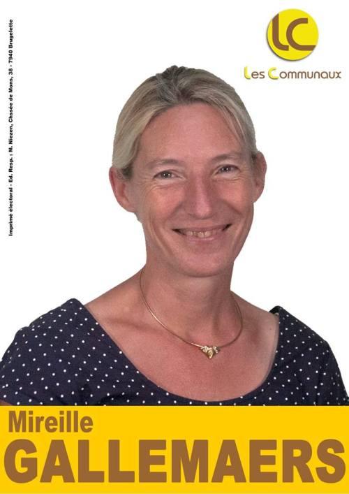 Conseil du CPAS - Mireille Gallemaers