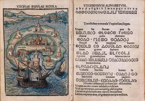 L'utopie - le livre de Thomas More 1516