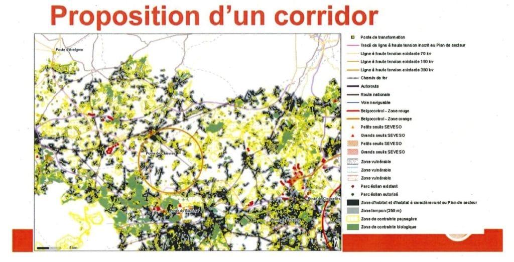 Proposition de Corridor ELIA