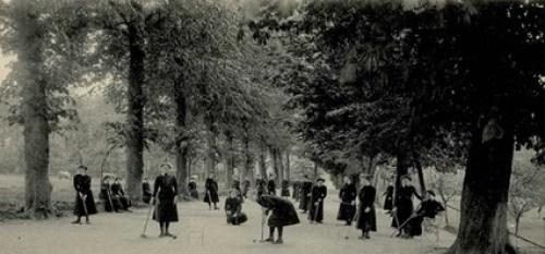 Institut Sainte Gertrude à Brugelette - Enfants jouant