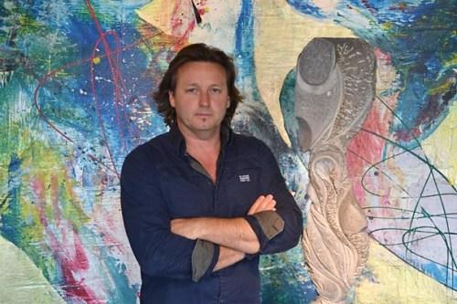 L'artiste Xavier Parmentier