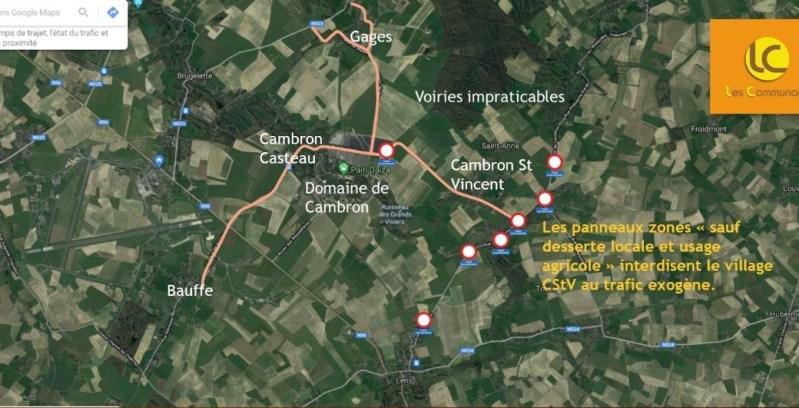 """Cambron-St-Vincent - """"sauf desserte locale"""" partout"""